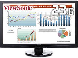 ViewSonic ビューソニック VAパネル採用 フルHD対応23.6型ワイド液晶ディスプレイ 5年保証 VA2447MH-LED-7 単品購入のみ可(取引先倉庫からの出荷のため) クレジットカード決済 代金引換決済のみ