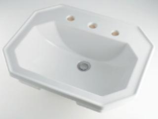 KAKUDAI/カクダイ NODU-0476580030 角型洗面器/3ホール