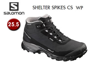 SALOMON/サロモン L39072800 SHELTER SPIKES CS WP ウィンターシューズ メンズ 【25.5】