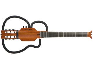 Aria/アリア シンソニードギター AS-101C/SPL MH (マホガニー)【ソフトケース・ヘッドホン付属】 【送料代引き手数料無料の安心価格】