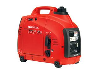 低燃費&低騒音!しかも重量13kgと持ち運びに適したインバーター発電機。 HONDA/本田技研工業 【納期10月中旬以降】防音型インバーター発電機 900VA(交流/直流) EU9i K1JN1