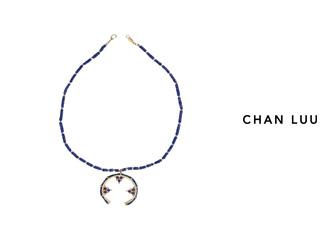 CHAN LUU/チャンルー ボヘミアン調 ネックレス NGZ-12234(MATTE LAPIS) チャンルーオリジナル巾着袋付き!