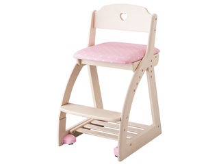 KOIZUMI/コイズミ 【Lovely Chair/木製ラブリーチェア】KDC-034WW HP ハートピンク