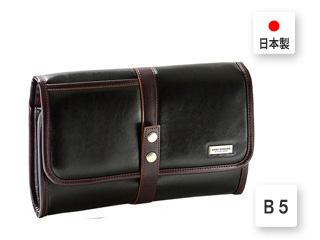 日本製■B5対応/セカンドバッグ【ブラック】■30cm■9~10インチクラスのタブレットが入るサイズ