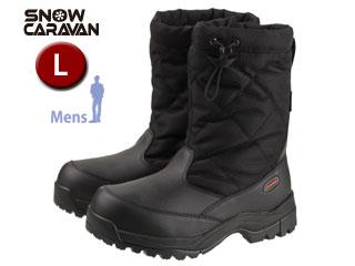 SNOW CARAVAN/スノーキャラバン 0023114 ウィンターブーツ SHC-14M (ブラック) 【L】【男性用】
