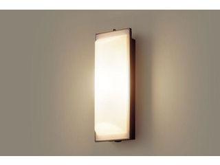 Panasonic/パナソニック LGWC80203LE1 LEDポーチライト オフブラック【電球色】【明るさセンサ付】【壁直付型】