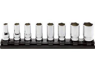 Ko-ken/山下工業研究所 9.5mm差込 Z-EALセミディープソケットレールセット12ヶ組 RS3300XZ/12