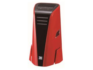 ゼンケン ZF-PA05RD ミニ・エアクリーナー 空気清浄機 (レッド)【~4畳】【USB電源対応】 【ポータブル】【デスク、卓上サイズ】