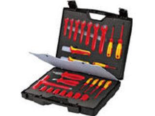 KNIPEX/クニペックス 【代引不可】絶縁工具セット 26点セット 989912