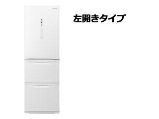 【標準配送設置無料!】 Panasonic/パナソニック 【まごころ配送】NR-C37HCL-W ノンフロン冷凍冷蔵庫 [左開きタイプ]【365L】(ピュアホワイト)