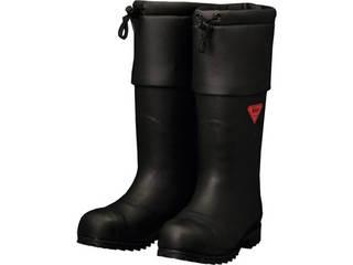 SHIBATA/シバタ工業 防寒安全長靴 セーフティベアー#1001白熊(ブラック) 27.0cm AC111-27.0