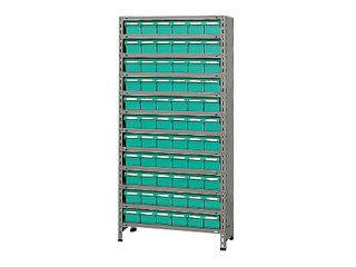 SAKAE/サカエ 【代引不可】物品棚LEK型樹脂ボックス LEK1122-66T