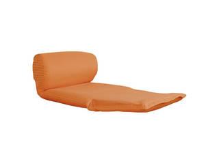 ごろ寝座椅子 オレンジ