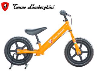 Lamborghini/ランボルギーニ TL-B ランニングバイク 【11インチ】 ペダルなし 子供用 (オレンジ) メーカー直送品のため【単品購入のみ】【クレジット決済のみ】 【北海道・沖縄・九州・四国・離島不可】【日時指定不可】商品になります。
