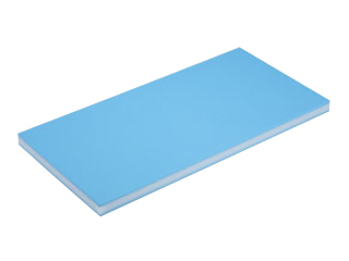 SUMIBE/住べテクノプラスチック 青色抗菌スーパー耐熱まな板 B30S1 750×300×H30