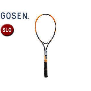 GOSEN/ゴーセン SRCETS ソフトテニス ラケットCUSTOMEDGE TYPE-S (フレームのみ) 【SL0】 (サンセットオレンジ)