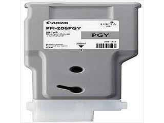CANON/キヤノン インクタンク 顔料フォトグレー PFI-206 PGY 5313B001