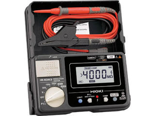 HIOKI/日置電機 太陽光発電システム用絶縁抵抗計IR4053-10