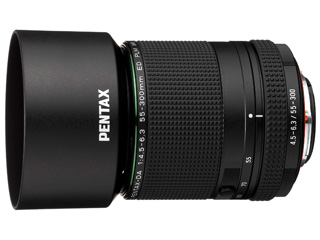 PENTAX/ペンタックス HD PENTAX-DA 55-300mmF4.5-6.3ED PLM WR RE 望遠ズームレンズ 【pentaxlenscb】