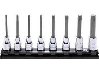 Ko-ken/山下工業研究所 9.5mm差込 Z-EALトルクスビットソケットレールセット8ヶ組 RS3025Z/8-L75