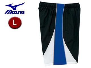 mizuno/ミズノ 85FQ120-92 トレーニングクロス ハーフパンツ 【L】 (ブラック×ブルー)