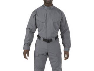 5.11 Tactical/ファイブイレブンタクティカル ストライク TDU LSシャツ ストーム Sサイズ 72416-092-S