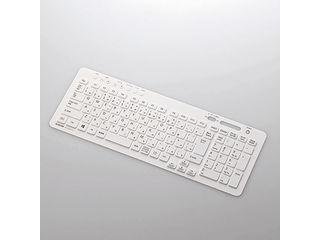 ELECOM/エレコム VALUESTAR N/Sシリーズ対応キーボード防塵カバー/シリコンタイプ/ホワイト PKC-98NX14WH