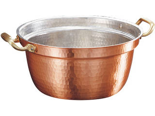 新鎚器銅器 段付鍋 26cm SN-5