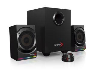 クリエイティブ・メディア 2.1チャンネルゲーミングスピーカー Sound Blaster X Kratos/クラトス S5 SBX-KTS-S5