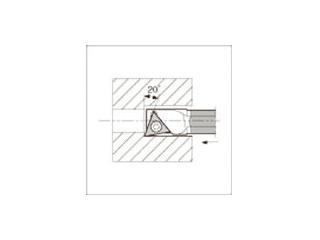 KYOCERA/京セラ 内径加工用ホルダ C06J-STXBR06-075