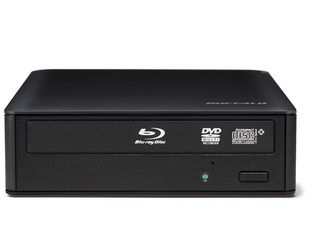 BUFFALO バッファロー 16倍速書き込み BDXL対応 USB3.0用 外付ブルーレイドライブ BRXL-16U3V