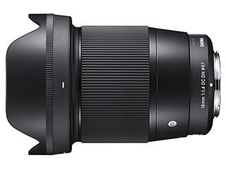 SIGMA/シグマ 16mm F1.4 DC DN Contemporary ソニ-Eマウント Sony Eマウント/ミラーレス一眼カメラ専用レンズ