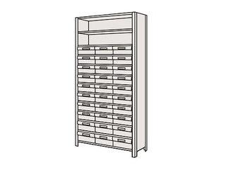 SAKAE/サカエ 【代引不可】物品棚LEK型樹脂ボックス LEK2123-30T