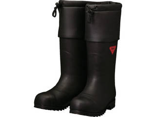 SHIBATA/シバタ工業 防寒安全長靴 セーフティベアー#1001白熊(ブラック) 22.0cm AC111-22.0