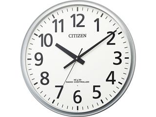 CITIZEN/シチズン 8MY547019 電波掛時計 飛散防止処理風防ガラス使用 直径500mm