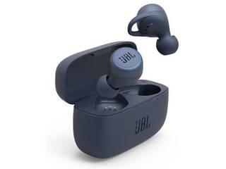 JBL ジェイビーエル 完全ワイヤレスヘッドセット ブルー JBLLIVE300TWSBLU リモコン・マイク対応 /ワイヤレス(左右分離) /Bluetooth