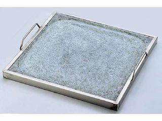 長水石焼角型プレートYS-1435