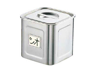 Sampo/三宝産業 18-8名札付き深型角キッチンポット/(手付) 24cm