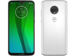 Motorola/モトローラ 6.24型SIMフリースマートフォン Moto G7 PADY0001JP クリアホワイト 単品購入のみ可(取引先倉庫からの出荷のため) 【クレジットカード決済、代金引換決済のみ】