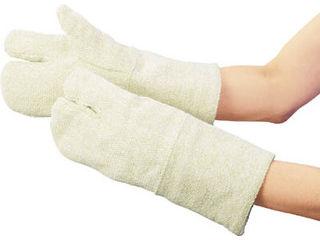 TRUSCO/トラスコ中山 セラミック耐熱保護手袋 3本指タイプ フリーサイズ/TCA-T3