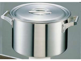 FUJINOS/フジノス 18-10ロイヤル 半寸胴鍋 XMD-420 (42cm)