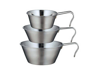飲料カップ 食器 モデル着用&注目アイテム 鍋 計量カップ4way使いのアウトドア用品 新入荷 流行 SOLAシェラカップ カクセー 納期未定