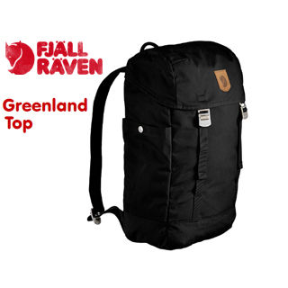 KANKEN18SS FJALL RAVEN/フェールラーベン 23150-550 Greenland Top[グリーンランド トップ] バックパック 【20L】 (ブラック) 【リュック】【デイパック】【2WAY】【北欧】【スウェーデン王室御用達ブランド】 【当社取扱いのフェールラーベン商品はすべて日本正規代