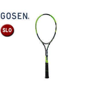 GOSEN/ゴーセン SRCETS ソフトテニス ラケットCUSTOMEDGE TYPE-S (フレームのみ) 【SL0】 (ブライトグリーン)