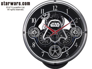 RHYTHM/リズム時計 4MN533MC02 電波からくり時計 KARAKURI CLOCK 【スター・ウォーズ/STAR WARS】 (c)&TM Lucasfilm Ltd. 【RPS160603】