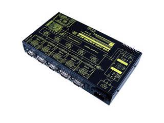 システムサコム工業 USB(COMポート)/RS232C 5ポート分配/統合ユニット 【絶縁タイプ】 USB-232C-232TW5-AC-U