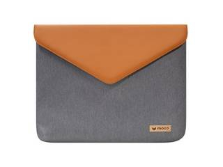 """MOZO Laptop Envelope Pouch 13"""" Gray with Brown Surface用ケース MZES13GB"""