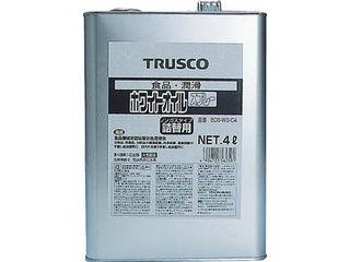 TRUSCO/トラスコ中山 αホワイトオイル 4L ECO-WO-C4