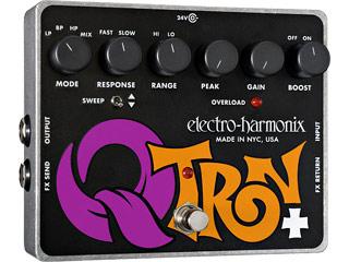 【nightsale】 electro harmonix/エレクトロハーモニクス Q-Tron Plus エンベロープフィルター エフェクター 【国内正規品】