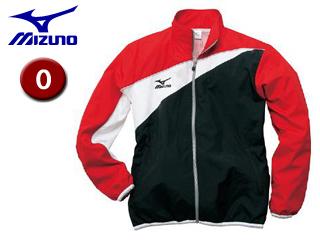 mizuno/ミズノ 85FQ100-96 トレーニングクロスシャツ 【O】 (ブラック×レッド)